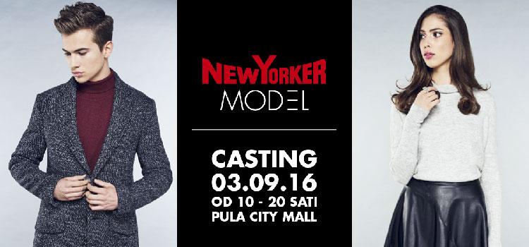 NEW YORKER – postani model i osvoji 10.000,00 kn!