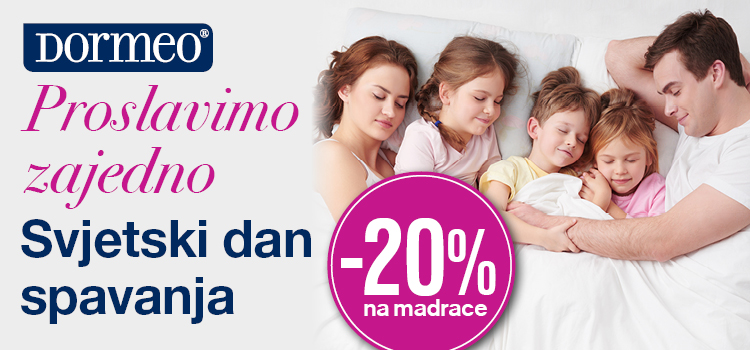 TOP SHOP – 20% na Dormeo!