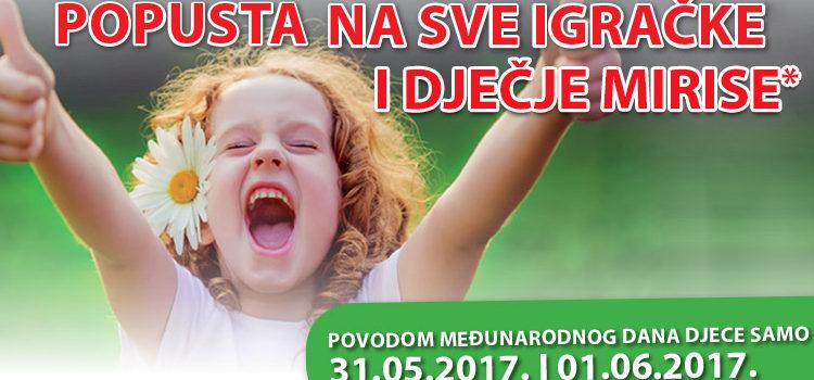 AKCIJA: 20% popusta na igračke i dječje mirise