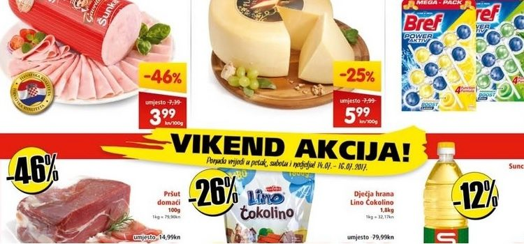 INTERSPAR vikend akcija!