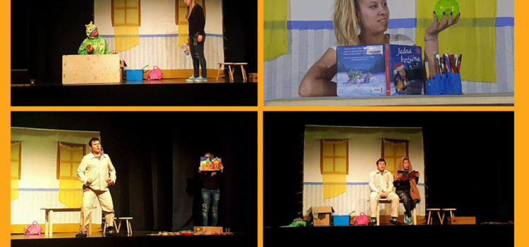 Predstava: Hrvatska bajkovnica u Pula City Mallu