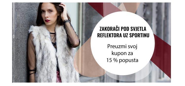 15% popusta na novu kolekciju u Sportini