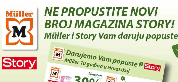 Müller kuponi u Storyu