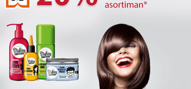 Müller popust na Aiko styling factory liniju za kosu