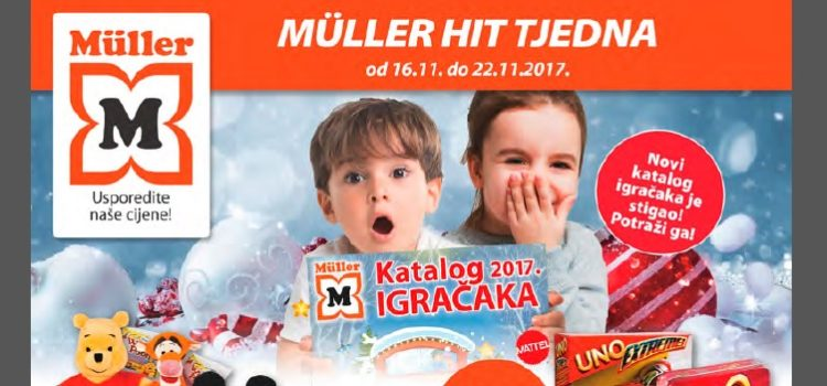 Müller katalog igračaka