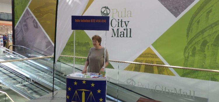 Savjetovanje potrošača u Pula City Mallu