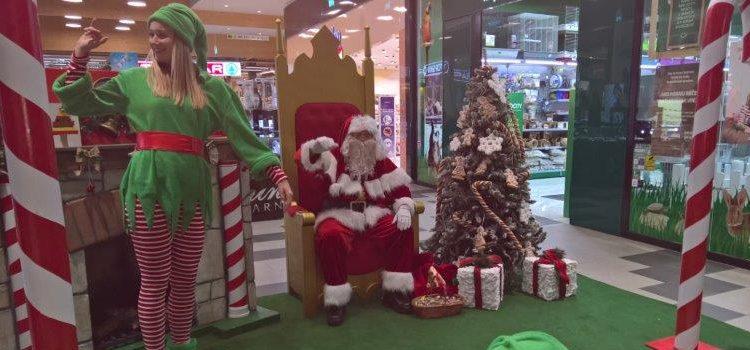Djed Mraz u Pula City Mallu