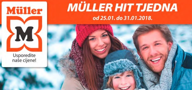 Müller drogerijski letak