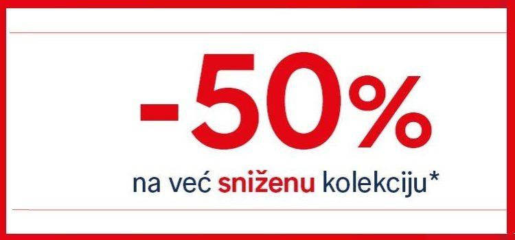 C&A 50% popusta