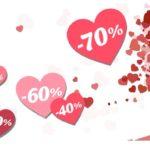 TOP SHOP – akcija za Valentinovo