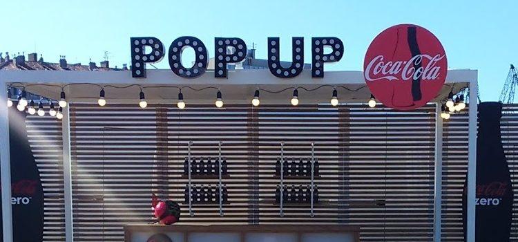 Coca-Cola u Pula City Mallu