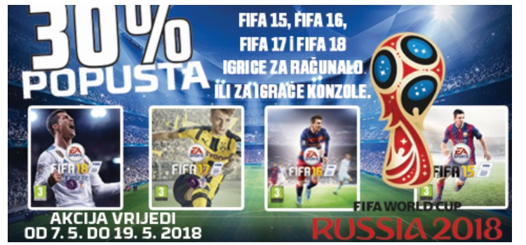 30% popusta na FIFA igricu