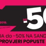 MASS – do 50% na sandale!