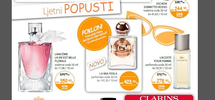 Müller parfumerijski letak