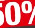 KiK 50% popusta na plahte!