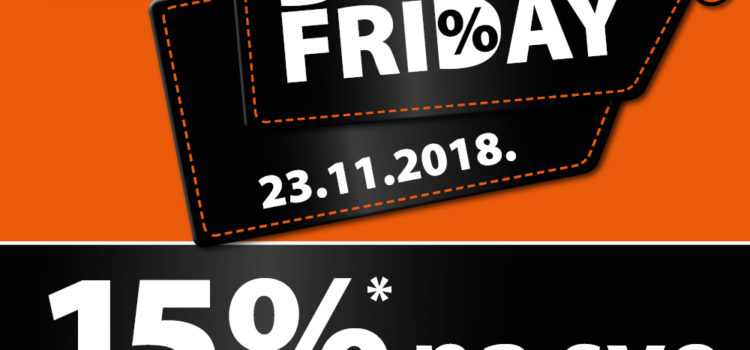 Müller: BLACK FRIDAY 15% na SVE
