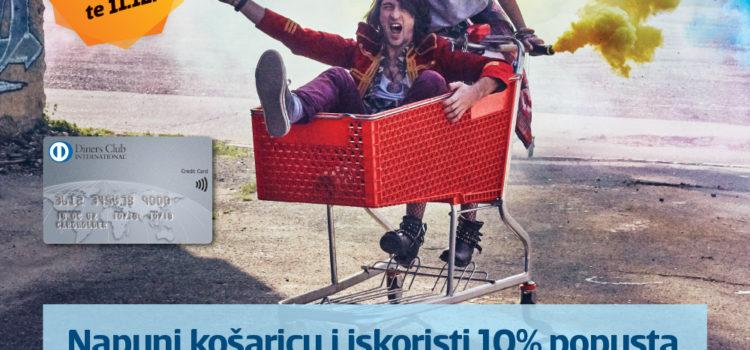 Müller –  10% popusta na cjelokupan asortiman plaćanjem Diners karticom!
