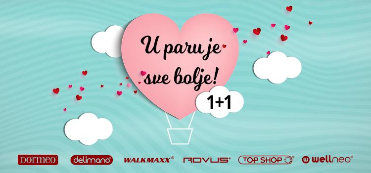 Valentinovo u Top Shopu