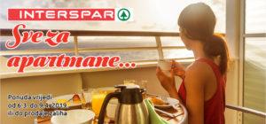 Sve za uređenje apartmana potražite u novom Interspar katalogu!