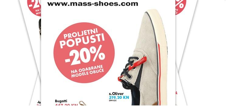 Mass shoes novi letak!