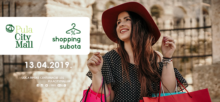 Shopping subota u Pula City Mallu!