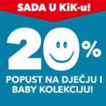 20% na dječju kolekciju!