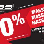 Massprodaja do 50%