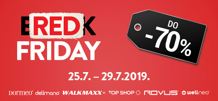 Red Friday u Top Shopu!