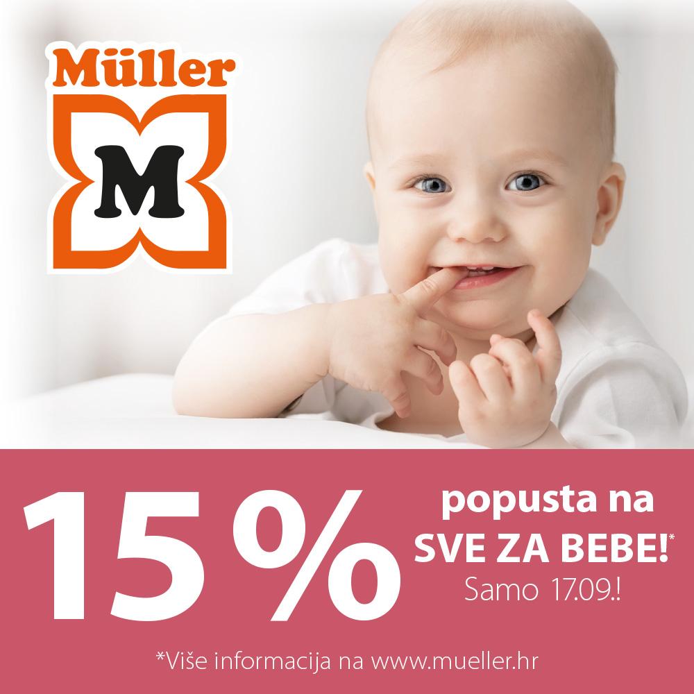 Dana beba u Mülleru!
