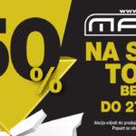 50% popusta u MASS-u!