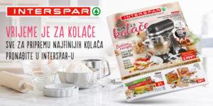 Sve za pripremu najfinijih kolača pronađite u Intersparu!