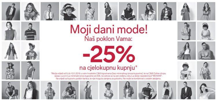 25% popusta u C&A