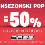 Do 50% u MASSU