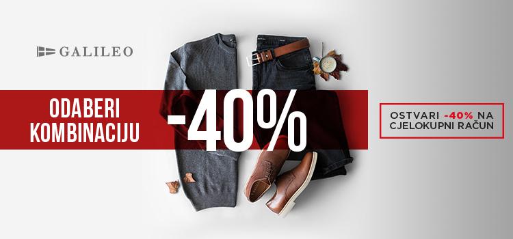 Odaberi kombinaciju i ostvari -40% popusta!