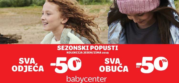 Novi val popusta u Baby Centru!