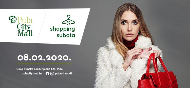 Novi mjesec, nova Shopping subota!