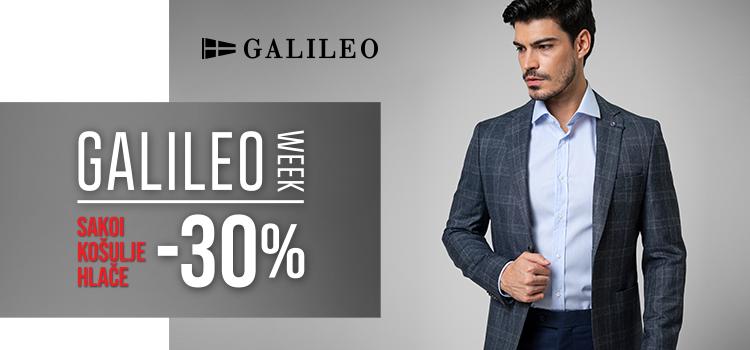 [Galileo week od 06.03. do 12.03] -30% sakoi, košulje, hlače!