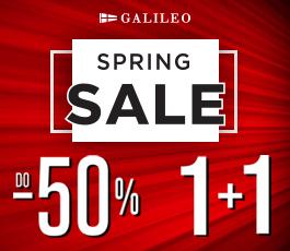 GALILEO SUMMER SALE do-50%!