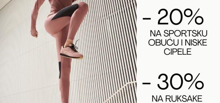 CCC – Vikend akcija na sportsku obuću!