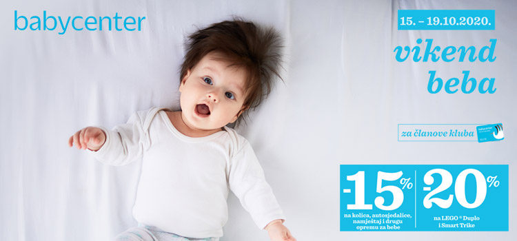 Vikend beba u Baby Centru!
