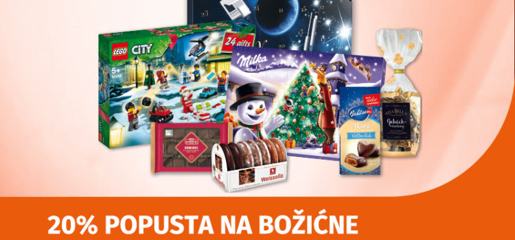 Dođite u Müller po božićne slatkiše i adventske kalendare!