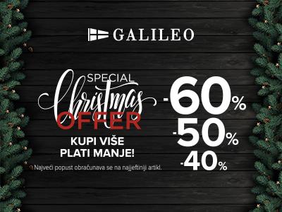 Galileo blagdanska akcija!