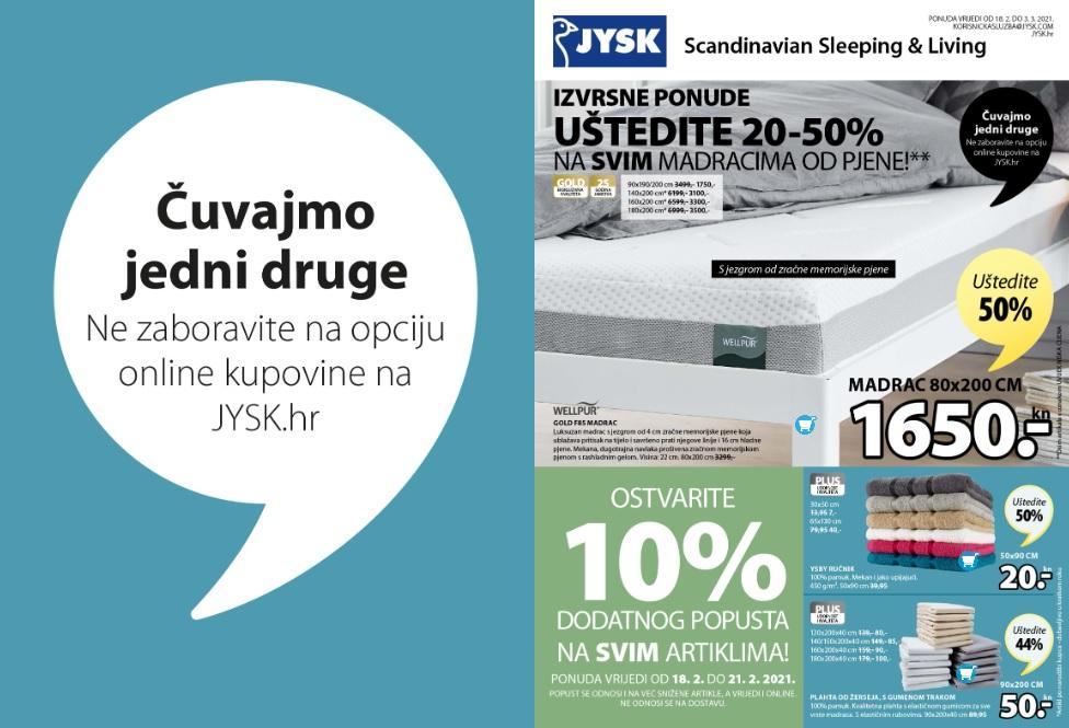 Izvrsne ponude iz JYSK-a!