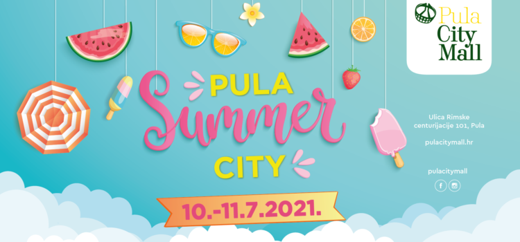 Veselo i šareno ljeto u Pula City Mallu!