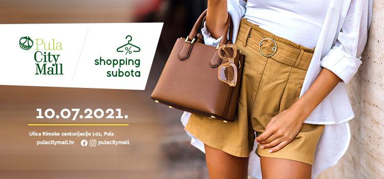 Vrijeme je za ljetnu Shopping subotu!