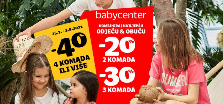 Novi krug popusta u Baby Centru!