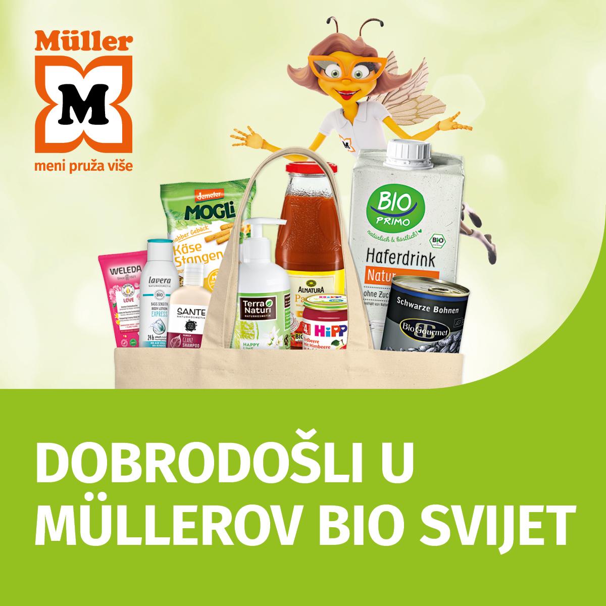 Dobrodošli u Müllerov BIO svijet!