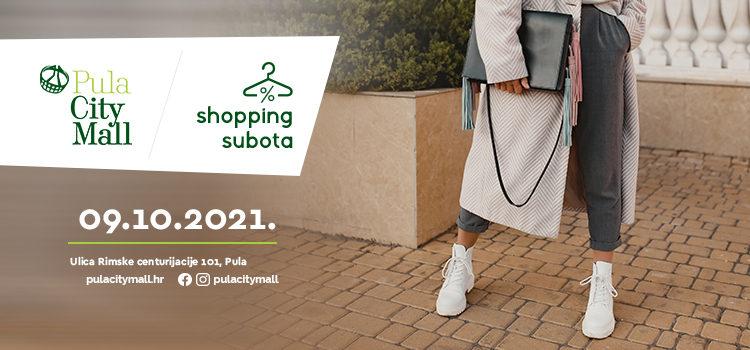 Jesenska Shopping subota!